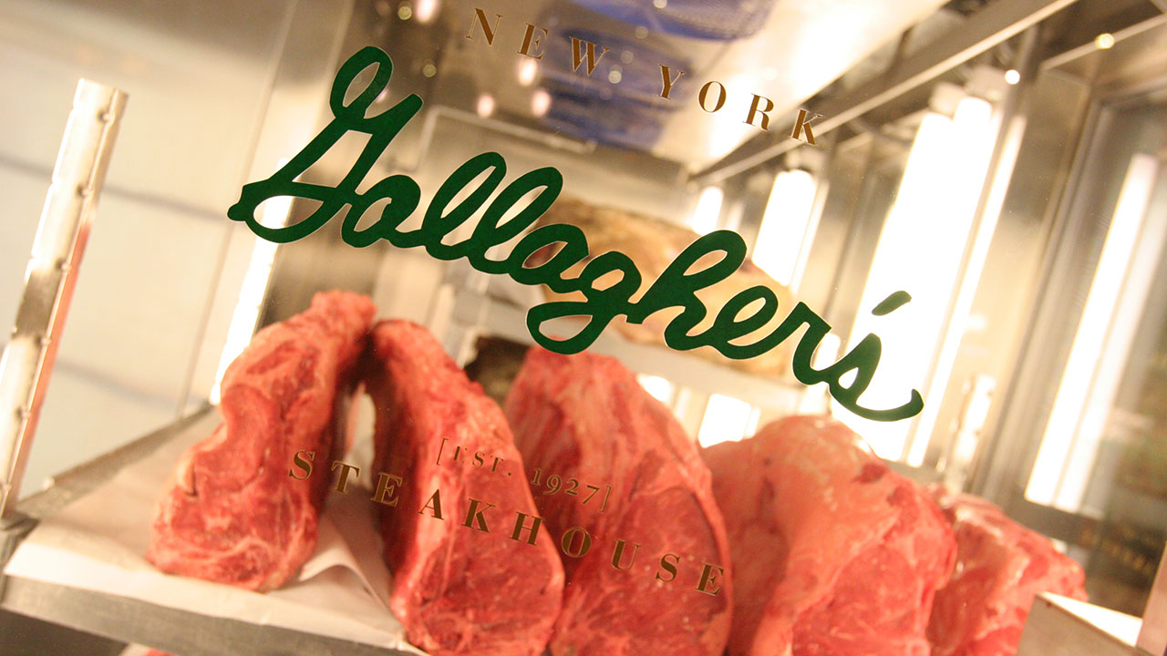 gallaghers steakhouse logo